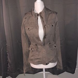 Aeropostale brown jacket